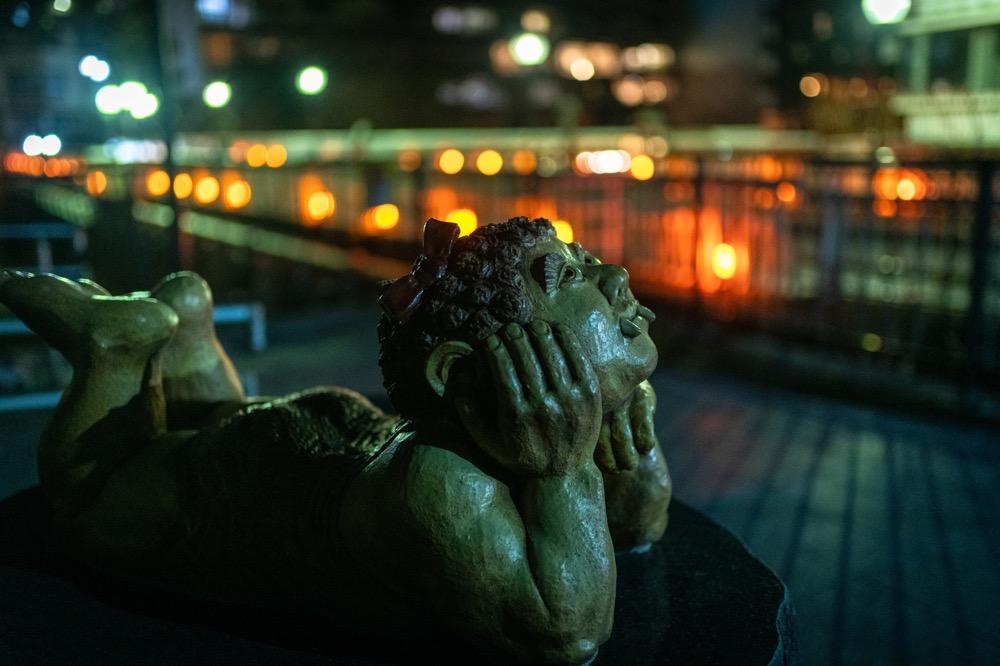 【鬼怒川温泉 くろがねばし】夜の散歩が楽しいかも?
