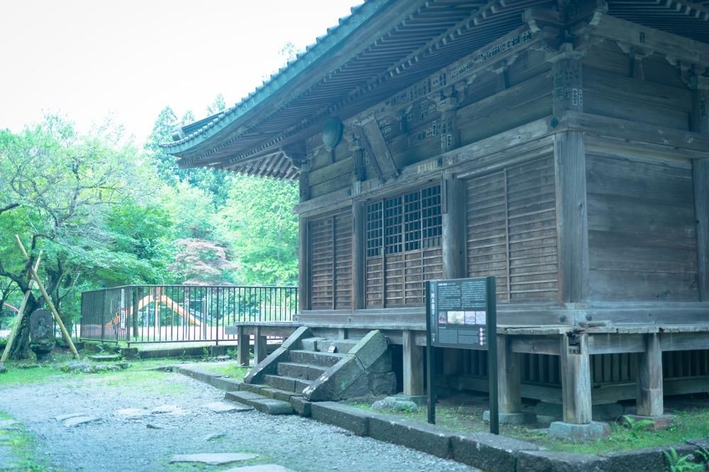 四本龍寺 観音堂