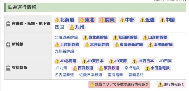 日光市 緊急・災害時(台風・地震など)に参考になるサイト