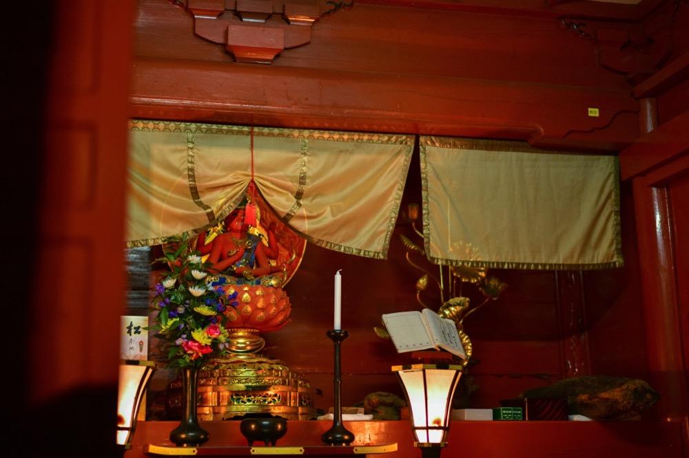 中禅寺 愛染明王