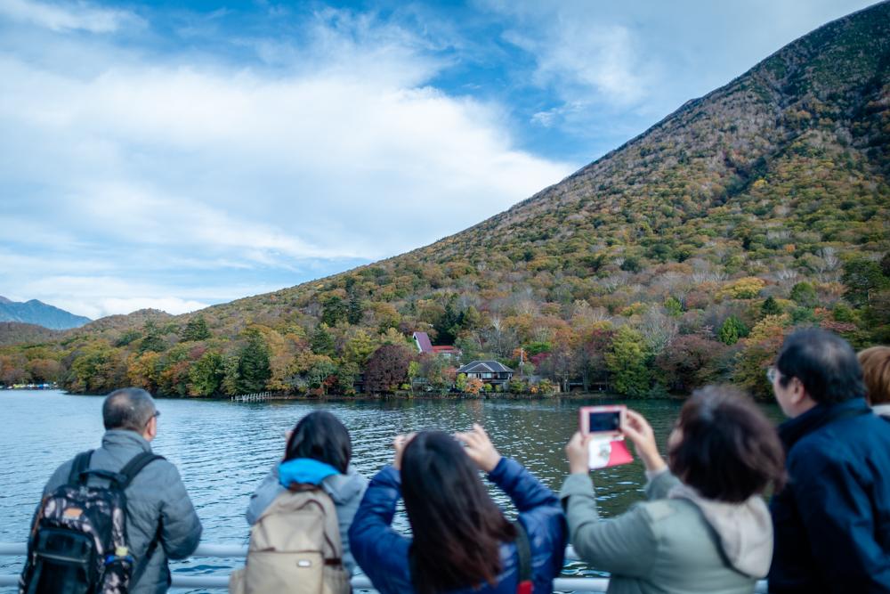 【奥日光 中禅寺湖クルージング(遊覧船)】湖の上からも美しい奥日光