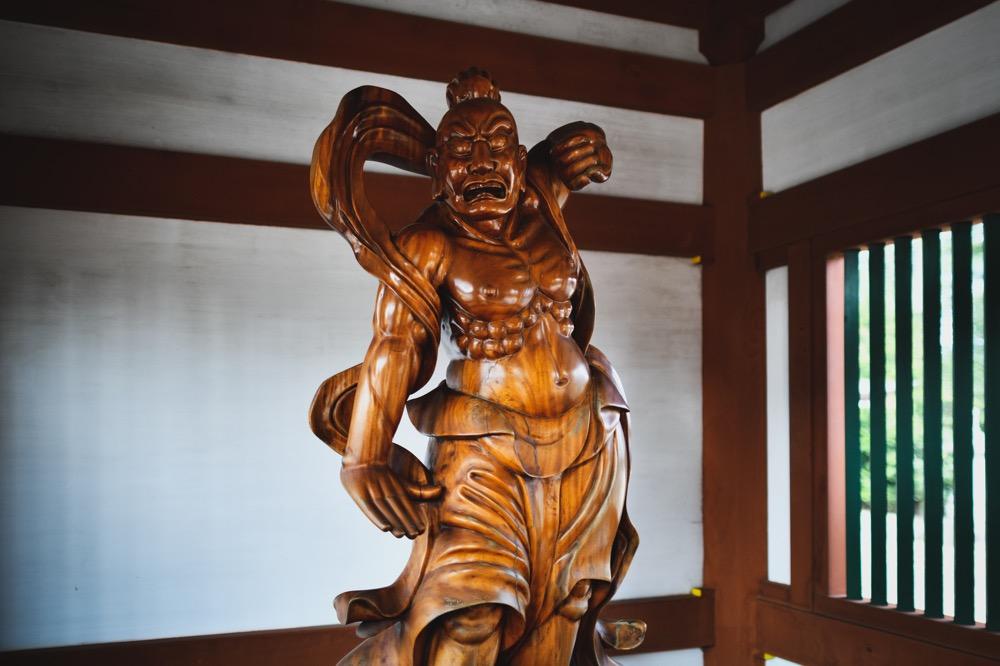 龍興寺 仁王