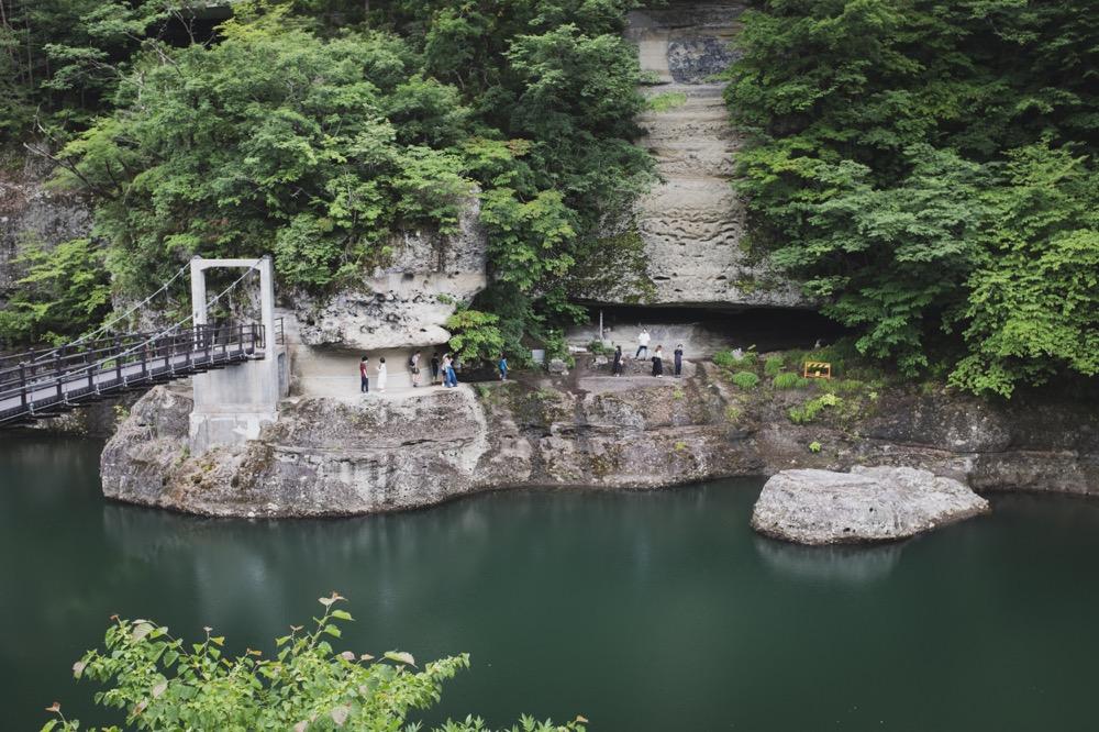 【下郷町 塔のへつり】さくっとよれる自然美鑑賞
