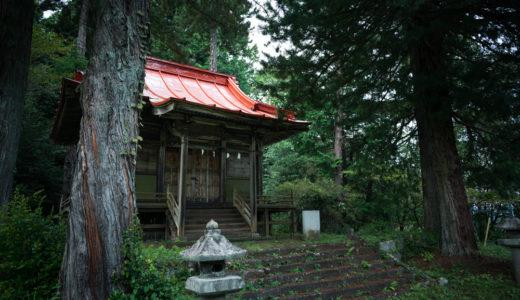 【両大神社(りょうだいじんじゃ)社寺散歩①】高台にあって、一部見通し〇