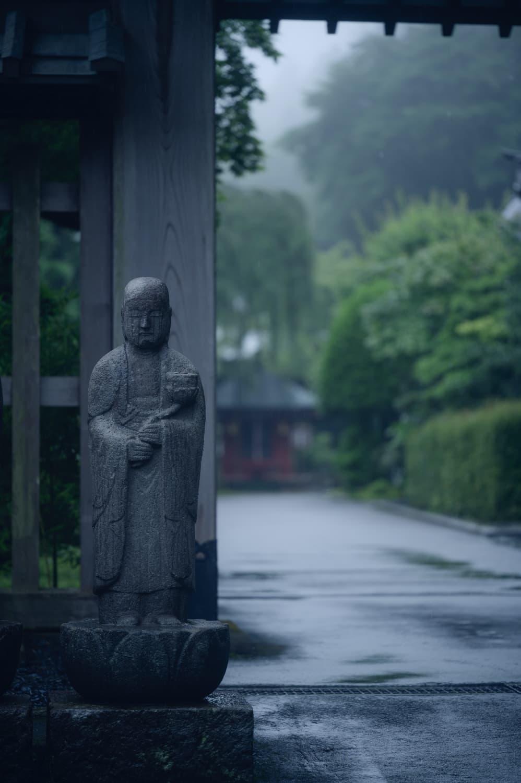 【日光 観音寺】雨の日の散歩