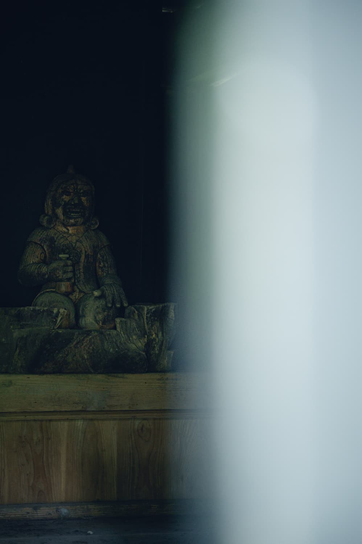 【輪王寺 行者堂(りんのうじ ぎょうじゃどう)】古道の静けさ