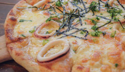 【会津若松市 ピザcafe one's(ピザカフェ ワンズ)】忘れじのイカめんたいチーズピザ